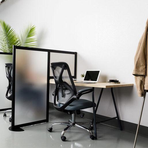 Resized 7 x 5 Loft Wall Hitch_Black_Frame_Acrylic_Angle 2